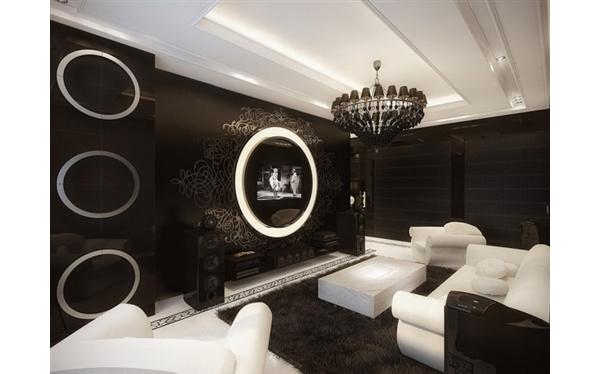 decoracao de interiores de casas de luxo:Apartamento de Luxo Vintage