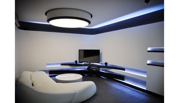 Apartamento Futurista  Blog  Móveis Planejados  Artezanal  Móveis Clássic