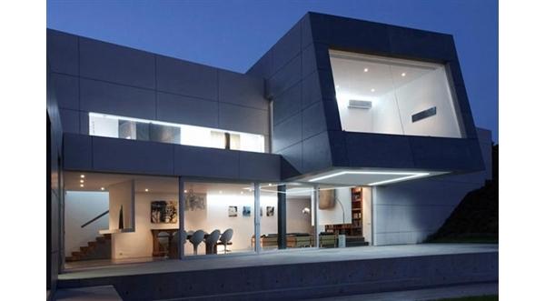 Contempor nea casa em santander espanha blog m veis for Piani casa contemporanea casa