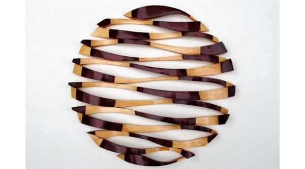 esculturas para decoracao de interiores : esculturas para decoracao de interiores: de madeira de Columbia, no Canadá, utiliza madeira recicladas para