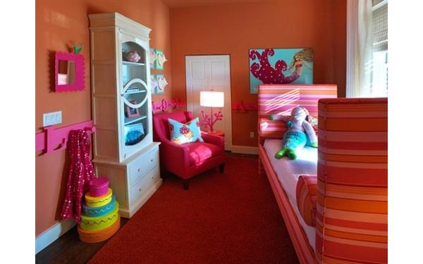 ideias criativas para decoracao de interiores : ideias criativas para decoracao de interiores:Quartos Infantis Coloridos e Criativos